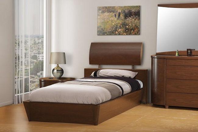 تصویر تخت خواب تک نفره امپراطور